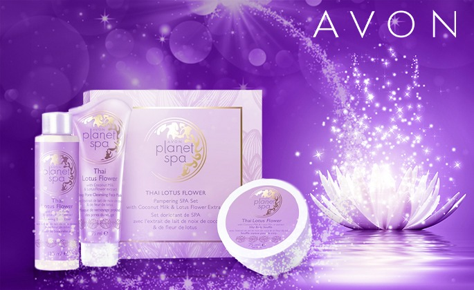 Planet Spa Thailand Lotus Flower Gjafasett á Aðeins 1995 Kr Fullt